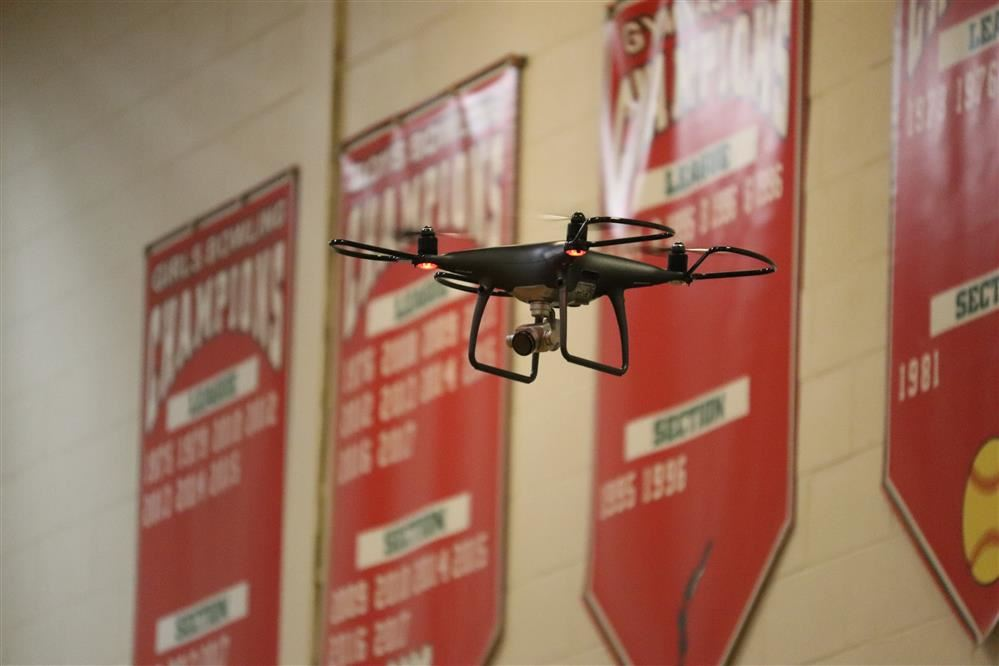 Drone Program Takes Flight at G. Ray Bodley High School